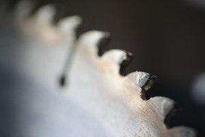 Sägeblatt einer Kappsäge