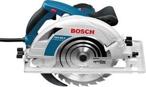Bosch Professional Handkreissäge GKS 85 G (Sägeblatt, Absaugadapter, L-BOXX, 2200 Watt, Sägeblatt-Ø 235 mm)