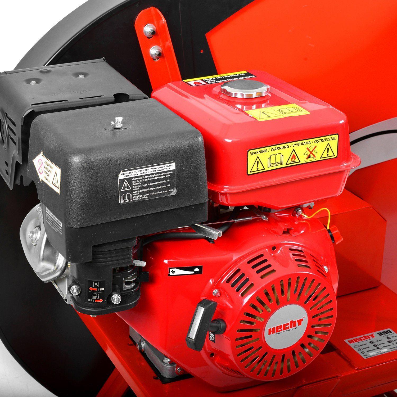 HECHT Benzin-Wippsäge 890 Kreis-Säge Brennholzsäge (Ø 700 mm Kreissägeblatt) Test